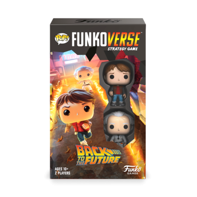 Funkoverse Strategy Game: Back to the Future 100