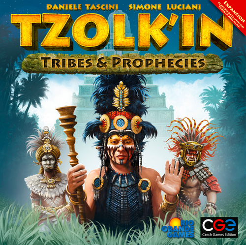 Tzolk'in: The Mayan Calendar Expansion: Tribes and Prophecies