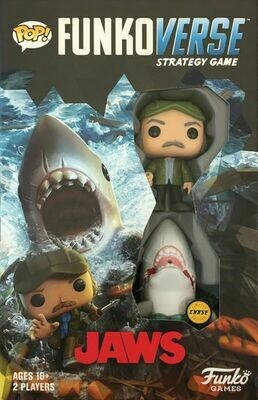 "Funkoverse Strategy Game: Jaws 100 Limited ""Chase"" Edition"