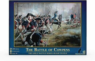 The Battle of Cowpens 1000 Piece Jigsaw Puzzle