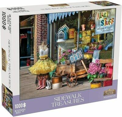 Sidewalk Treasures 1000 Piece Jigsaw Puzzle