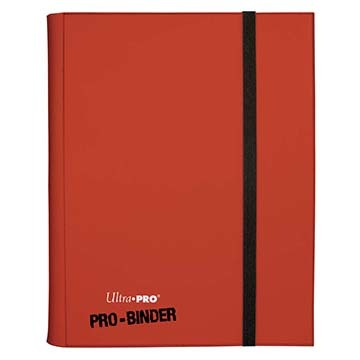 Ultra-Pro PRO-Binder 9-Pocket Red