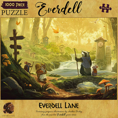 Everdell: Everdell Lane 1000 Piece Jigsaw Puzzle