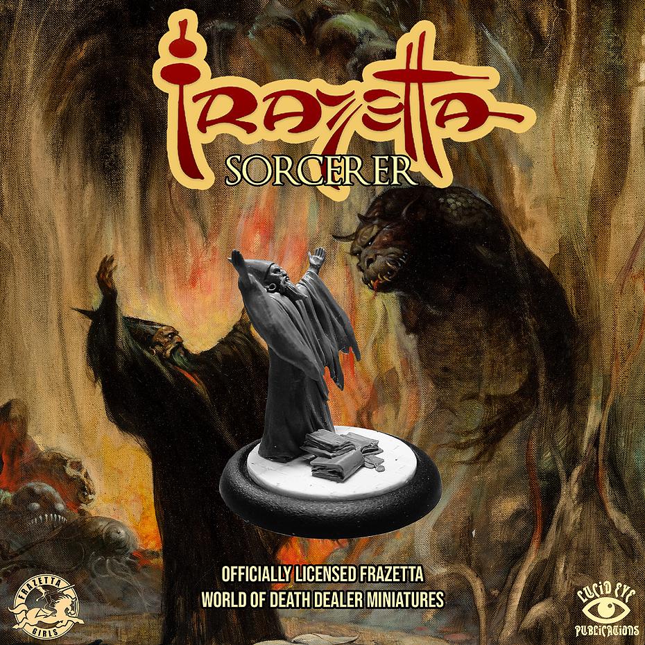 Frazetta World of Death Dealer - Sorcerer