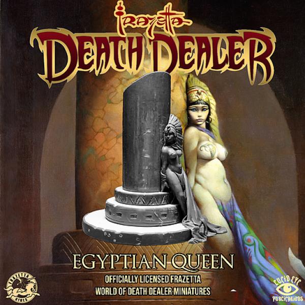 Frazetta World of Death Dealer - Egyptian Queen