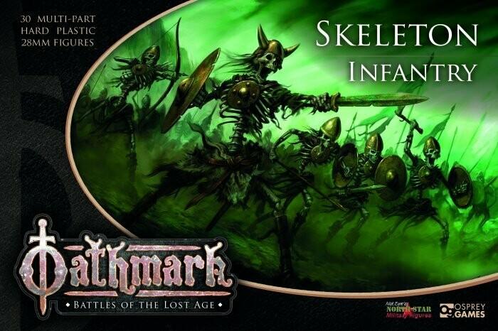 Oathmark: Skeleton Infantry Box Set
