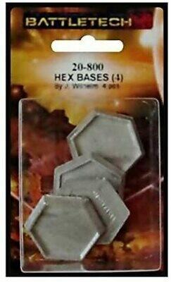 Battletech: Hex Bases (4)