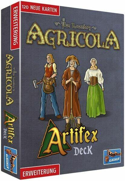 Agricola: Artifex Deck Expansion