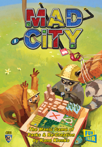 Mad City: Plan as Fast as You Can (Ding/Dent-Light)