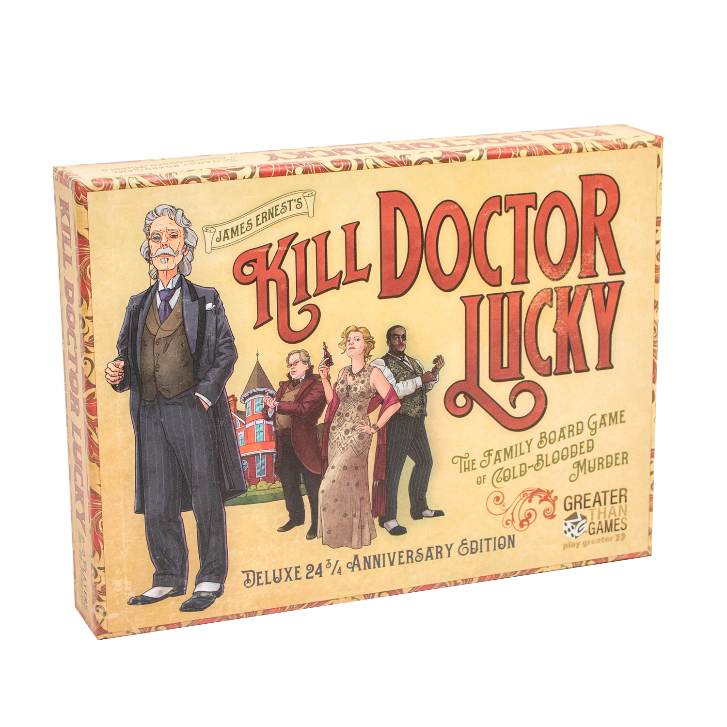 Kill Doctor Lucky, Deluxe 24 3/4 Anniversary Edition