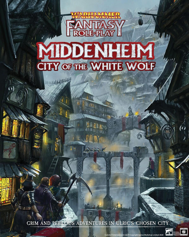 Warhammer Fantasy Role Play: Middenheim - City of the White Wolf (HC)