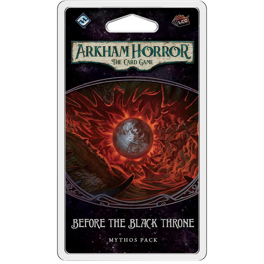 Arkham Horror: The Card Game - Before the Black Throne Mythos Pack