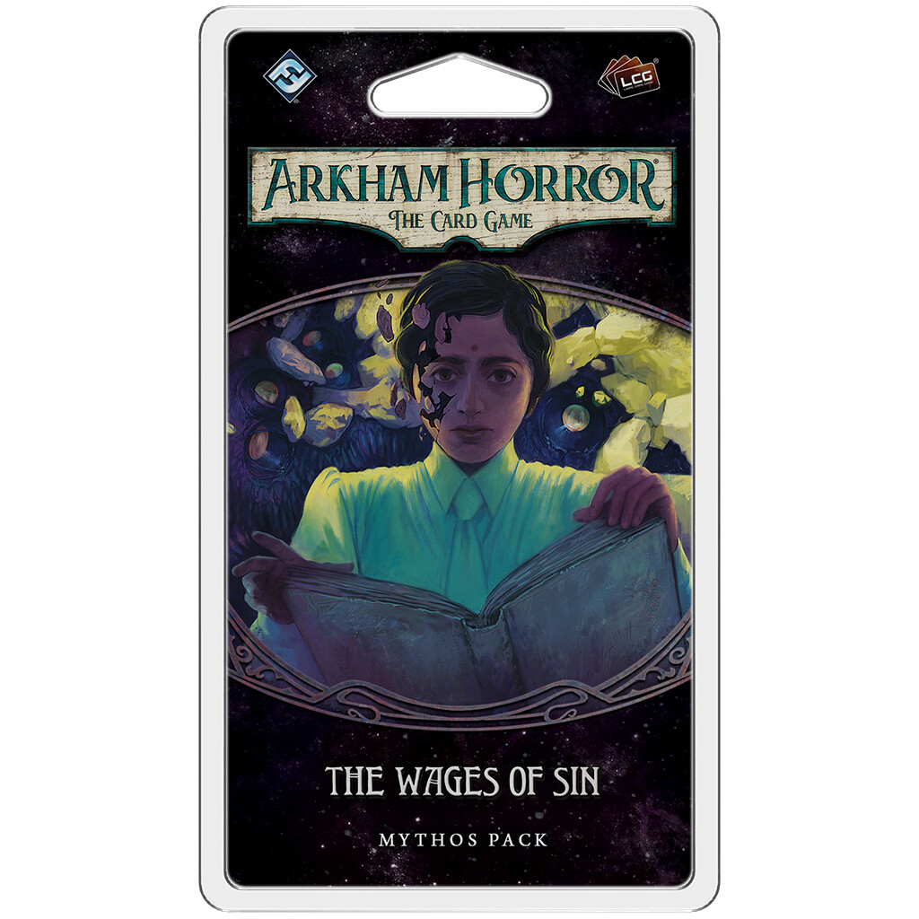 Arkham Horror: The Card Game - The Wages of Sin Mythos Pack