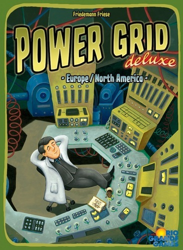 Power Grid Deluxe: Europe / North America (Ding/Dent-Very Light)