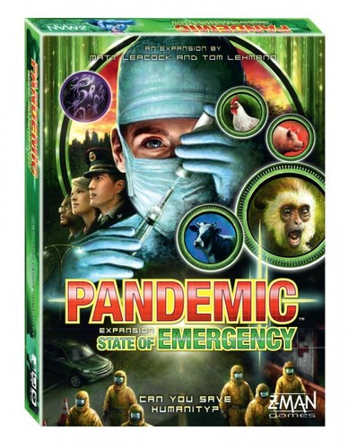 Pandemic Expansion: State Of Emergency