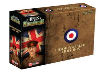 Heroes of Normandie Expansion: UK Army Box (Commonwealth)
