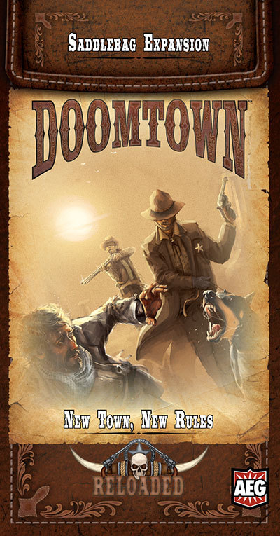 Doomtown: Reloaded Saddlebag Expansion - New Town, New Rules