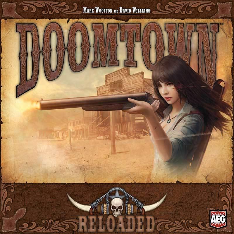 Doomtown: Reloaded Expandable Card Game (Base Set) (Ding/Dent-Light)