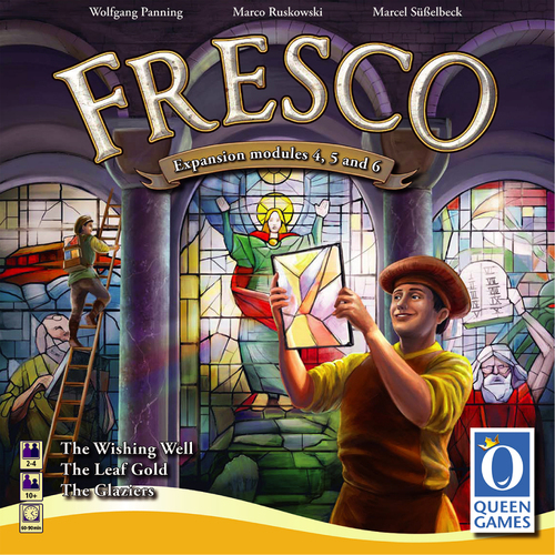Fresco Expansion Modules 4/5/6: The Wishing Well / The Gold Leaf / The Glaziers