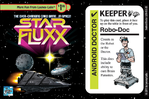 Star Fluxx: Android Doctor Promo Card