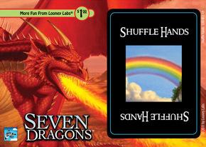 Seven Dragons Card Game: Shuffle Hands Promo Card
