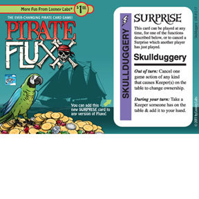Pirate Fluxx: Skullduggery Promo Card