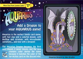 Aquarius Dragon Promo Card