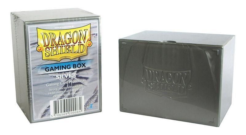 Gaming Deck Box - Silver (Dragon Shield)