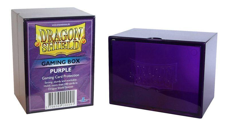 Gaming Deck Box - Purple (Dragon Shield)