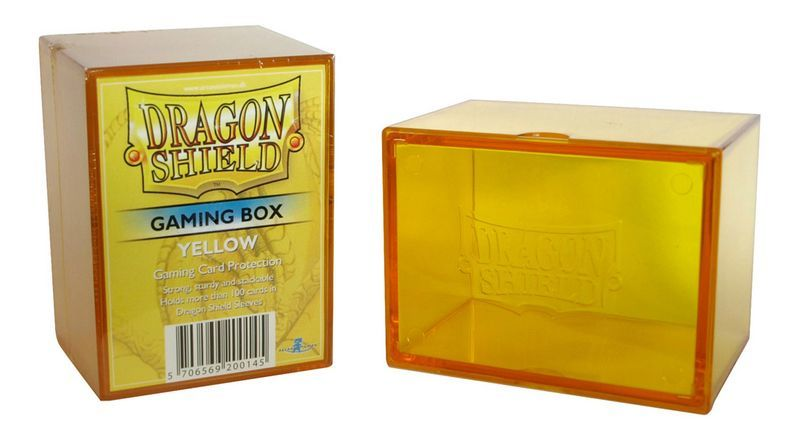 Gaming Deck Box - Yellow (Dragon Shield)
