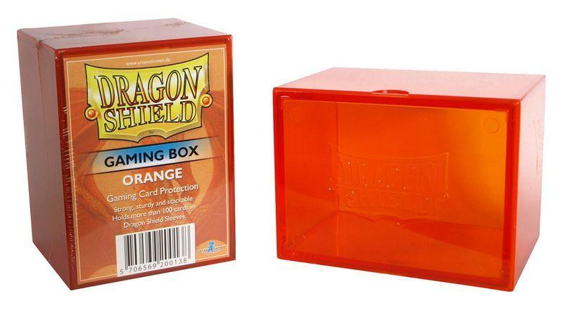 Gaming Deck Box - Orange (Dragon Shield)