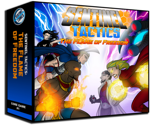 Sentinel Tactics: The Flame of Freedom (Core Game 1)
