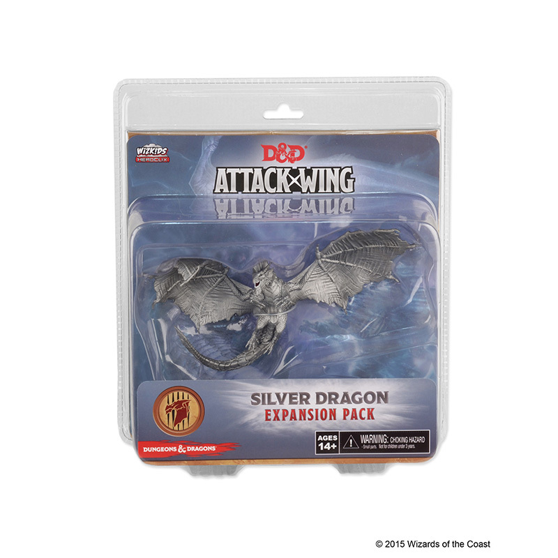 Dungeons & Dragons: Attack Wing Silver Dragon Expansion Pack (Wave 3)