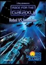 Race for the Galaxy Expansion: Rebel vs Imperium