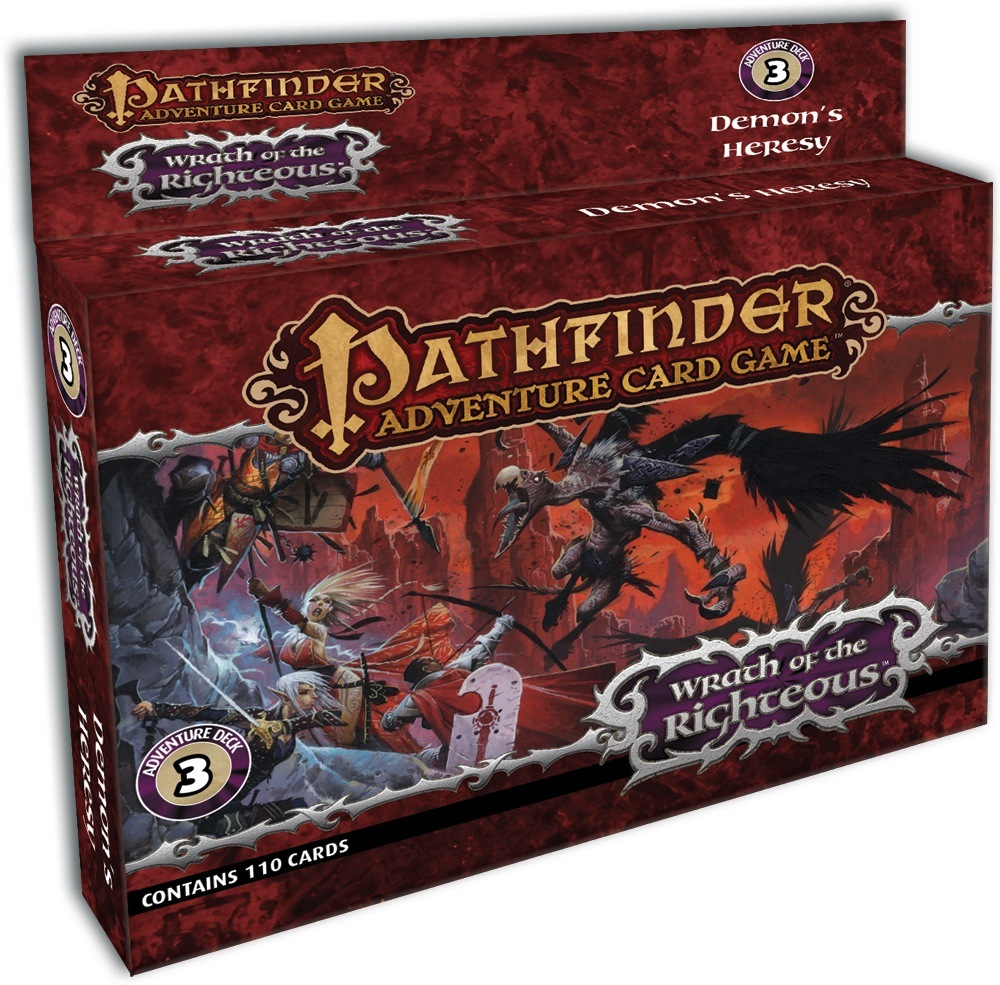 Pathfinder Adventure Card Game: Wrath of the Righteous Adventure Deck 3 - Demon's Heresy