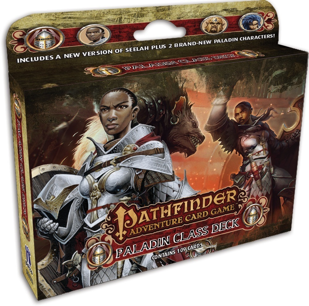 Pathfinder Adventure Card Game: Class Deck - Paladin