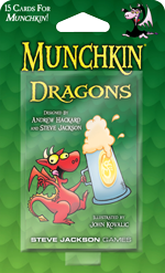 Munchkin: Dragons Booster Pack