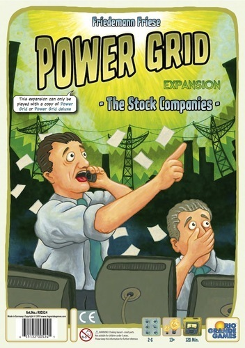 Power Grid Expansion: The Stock Companies