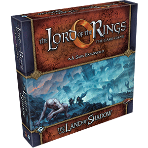 The Lord of The Rings: The Card Game -  The Land of Shadow Saga Expansion