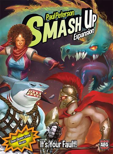 Smash Up: It's Your Fault! Expansion
