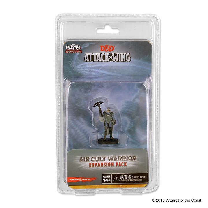 Dungeons & Dragons: Attack Wing Air Cult Warrior Expansion Pack (Wave 8)