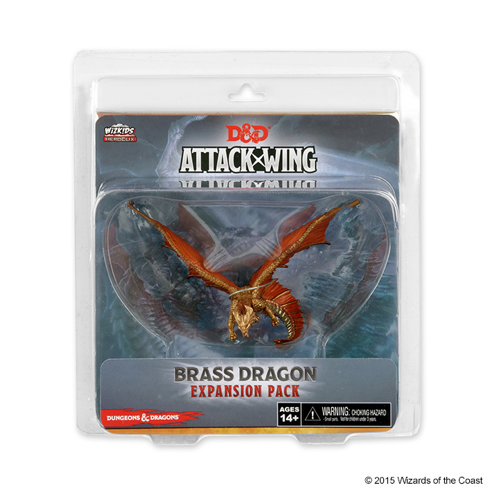 Dungeons & Dragons: Attack Wing Brass Dragon Expansion Pack (Wave 8)