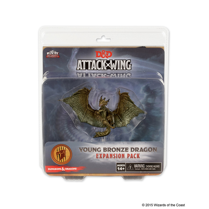 Dungeons & Dragons: Attack Wing Young Bronze Dragon Expansion Pack (Wave 5)