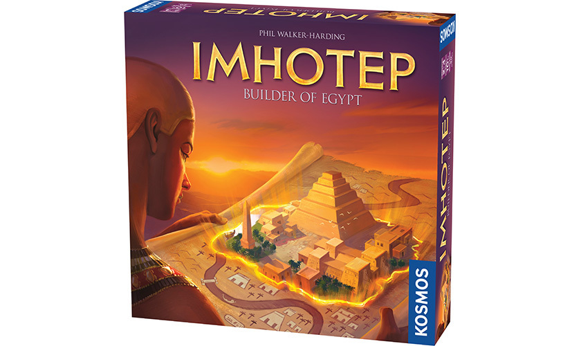 Imhotep, Builder of Egypt