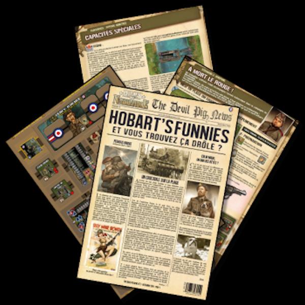 Heroes of Normandie Gazette #2 - Hobart's Funnies