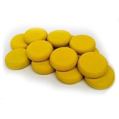Crokinole: Standard Wood Discs (14) - Yellow