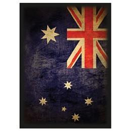 Max Protection Shuffle-Tech Image Card Sleeves (Standard; 50/pk): Australia Flag