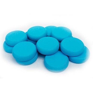 Crokinole: Standard Wood Discs (14) - Light Blue
