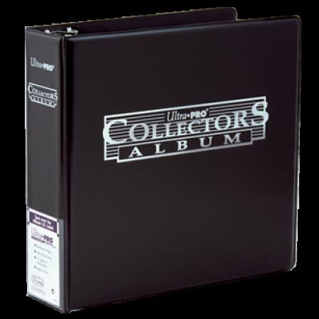 "Ultra-Pro Collectors Album - 3"", 3-ring binder, Black"