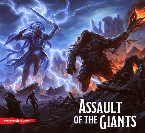Dungeons & Dragons: Assault of the Giants Board Game - Standard Edition